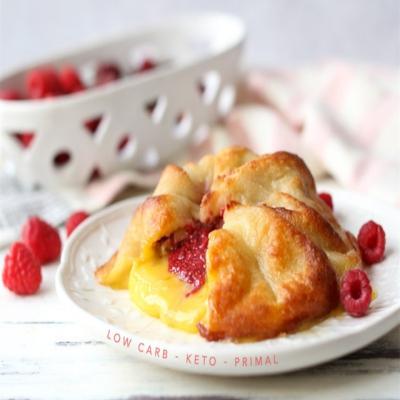 生酮食谱丨带有草莓清香的生酮奶酪饼,你会做吗?